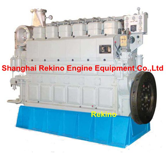 Zichai 6210ZLCZ Medium speed marine main propulsion diesel engine (544-1500HP)