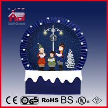 (40110F190-3C-BB) Snowing Christmas Decorations with Frame-supported and Textile-decorated