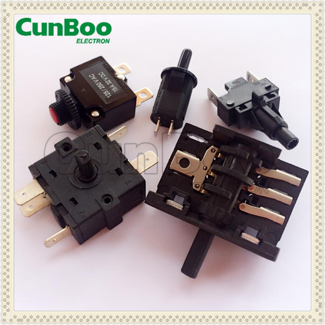 Stove rotary switch