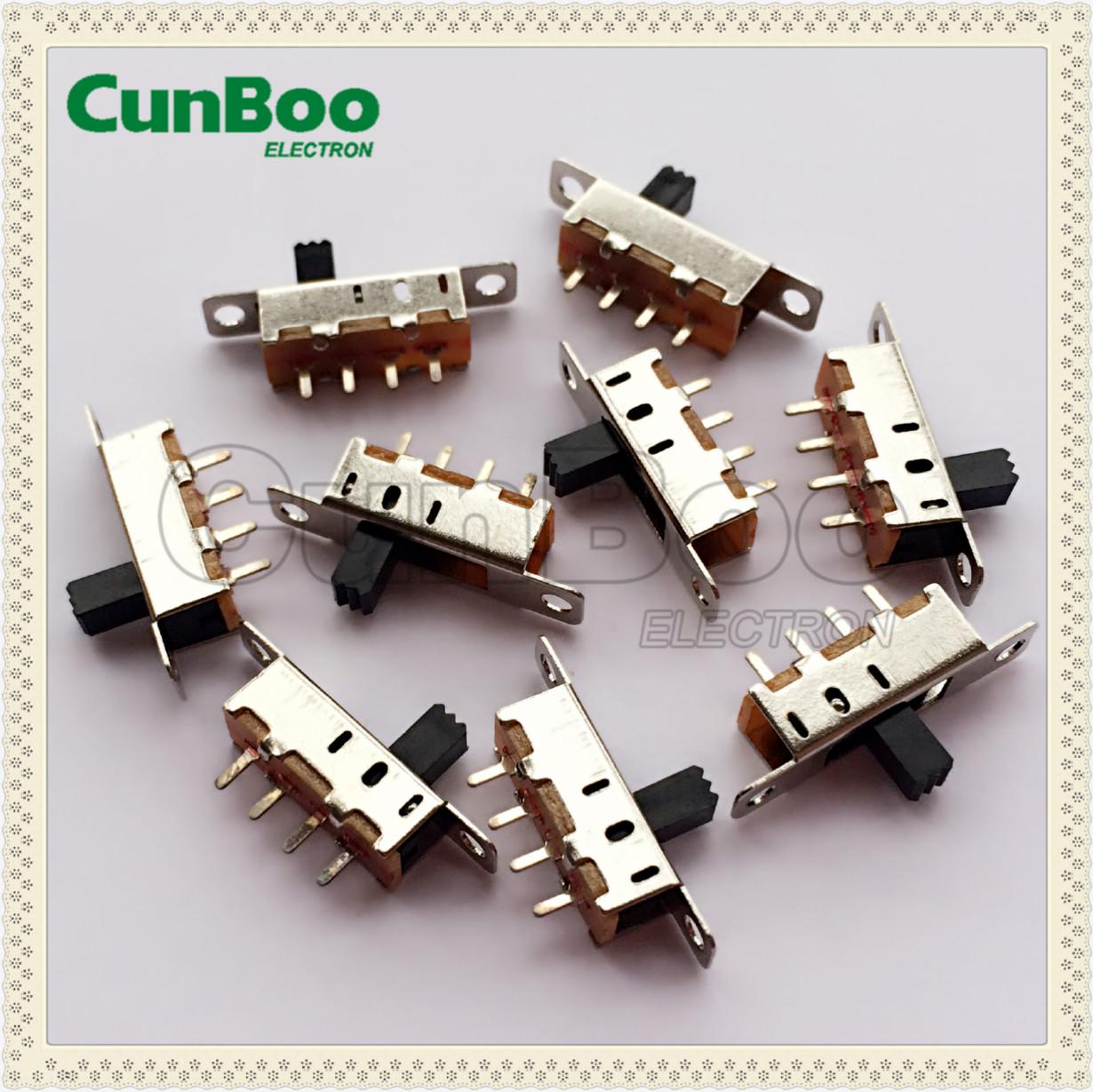 horizontal knob slide switch