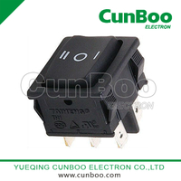KCD5-203 on-off-on rocker switch