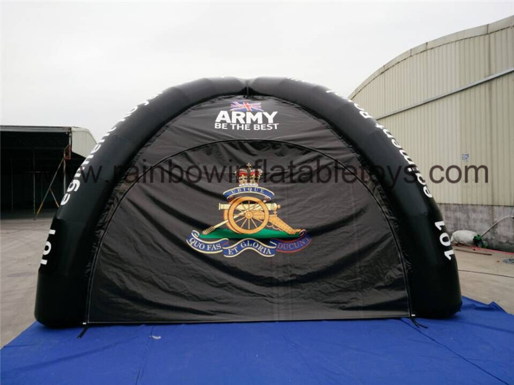 RB41037(dia 7m)Inflatable Simple Design Sewn Tent For Outdoor Games