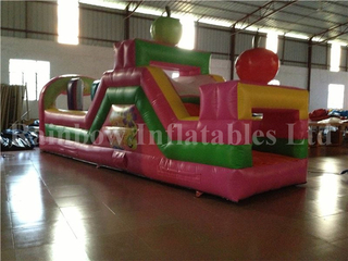 RB5033(7x2.2x3m) Inflatable New Kids Obstacle Course Cheap Obstacle Course For Sale