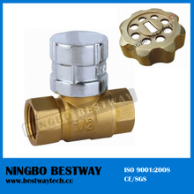 Magnetic Brass Lockable Ball Valve with Key (BW-L07)