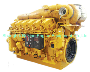 1100-1630HP JDEC Jichai 3000 marine medium speed diesel engine (A12V190)