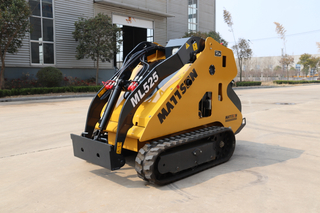 Weiman High Quality Mini Track Skid Steer Loader Made in China 25hp with Kubota Diesel Engine
