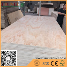 e1 glue radiate pine Poplar/Eucalyptus Core commercial plywood