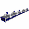Cnc stone engraving line for cutting and engraving machine