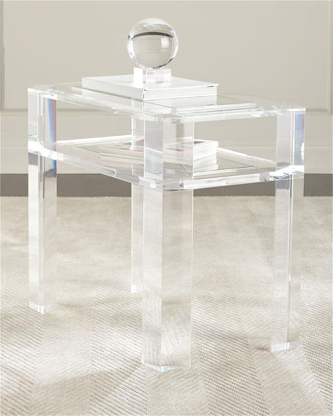 Beau Great Transparent Acrylic Royal Coffee Table High Glass Console Table  Plexiglass End Table With Console Plexiglas Transparent