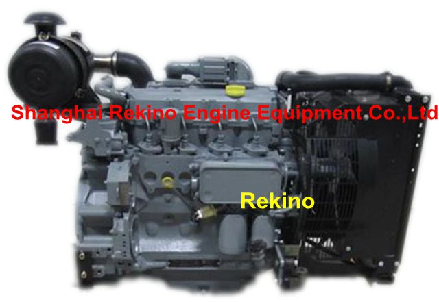 Deutz BF4M2012 BF4M2012C diesel engine 60-75KW for 50HZ genset