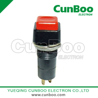 PBS-12A-12B momentary push button switch with 12mm diameter