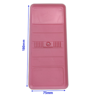 Panel Identification Plates 180mm x 75mm Pink Color