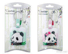 Panda Bag Tag W/Keyring Set