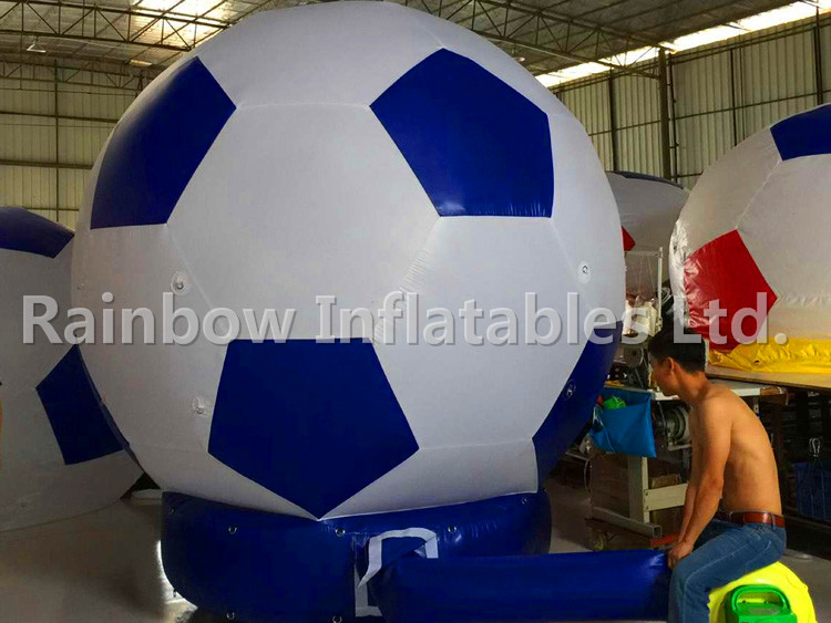 RB22038-1(dia2.7m) Inflatable ground balloon for advertising For Sale