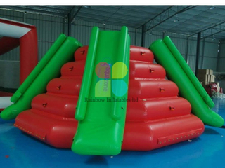 Inflatable water sports slide climbing game for sale RB32058