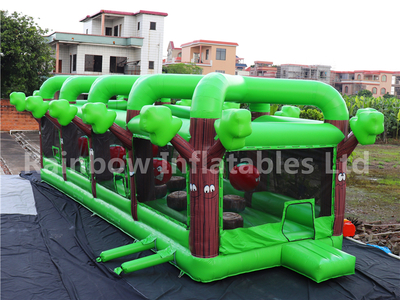 RB5205(15x4.5x4.5m) Inflatable Orchard Dash Obstacle Course hot sales