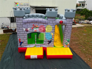 RB2015-8( 4.5x5m ) Inflatables Super Mario Bounce Castle