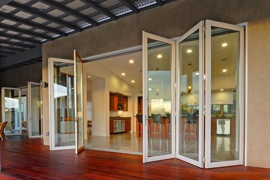Aluminum Folding Door - Buy Product on Guangzhou Topbright Building ...