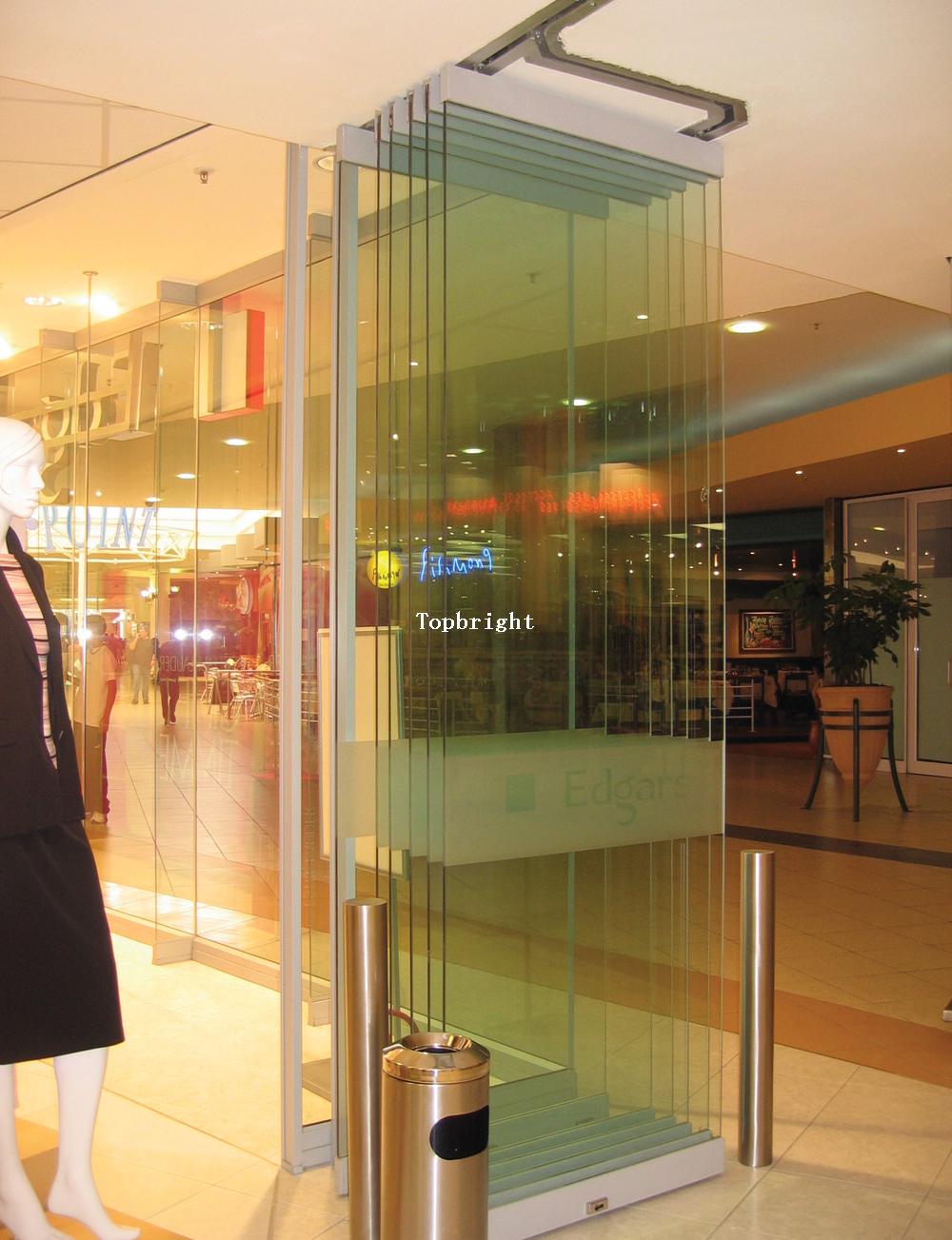 Framless Gl Folding Door For Mall Or Office