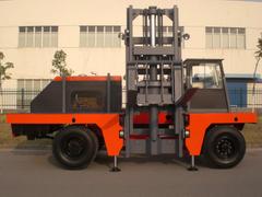 CCCD-8C diesel side loader truck