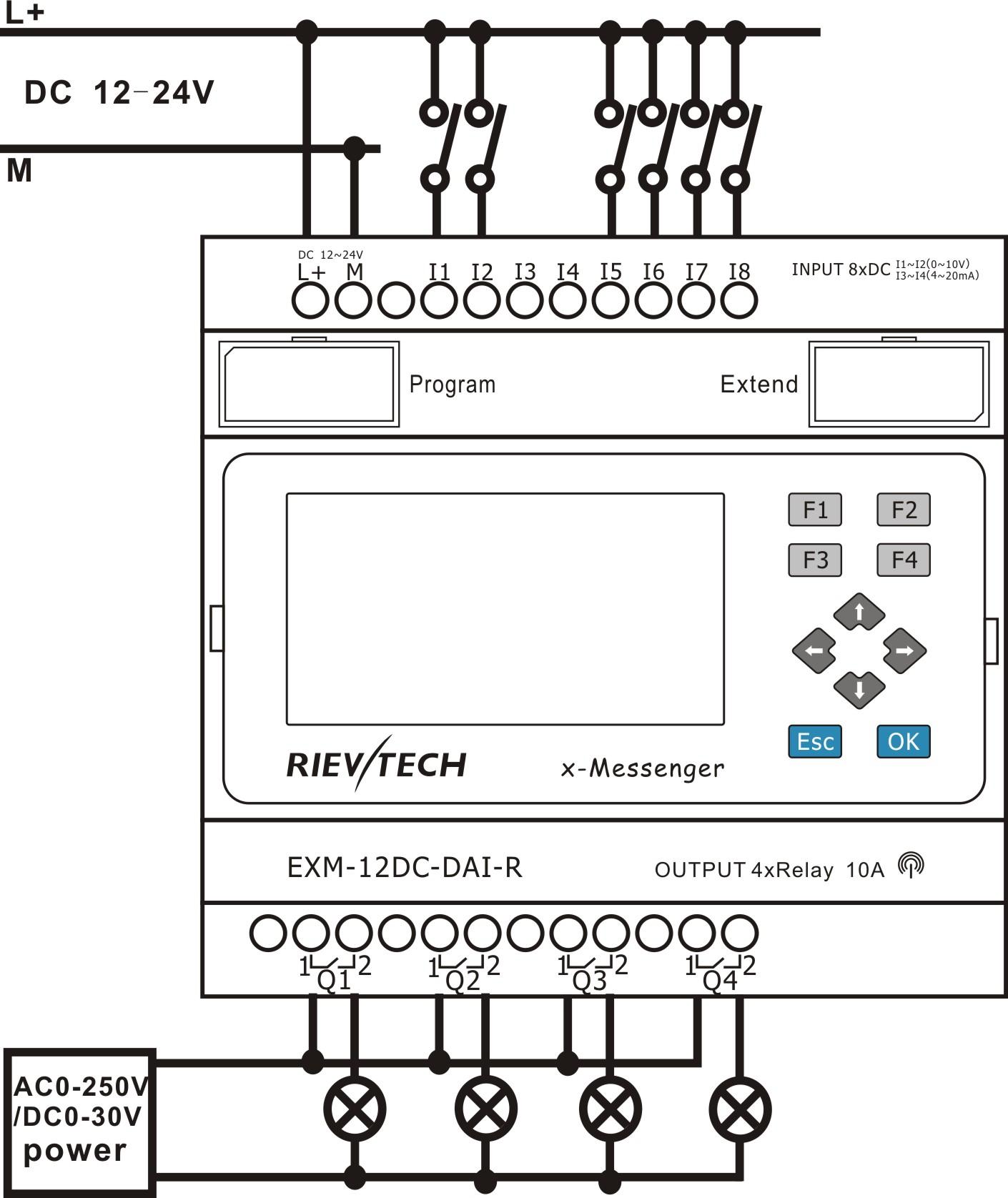 exm 12dc dai r hmi buy gprs plc  gsm plc  sms plc First Fax Machine Fax Machine Clip Art