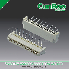 1.25-BS-nPW 1.25mm pitch FPC connector,double contact,double row, DIP type,right angle