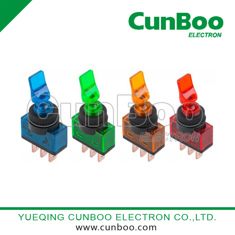 Auto Parts Toggle Switch with Light