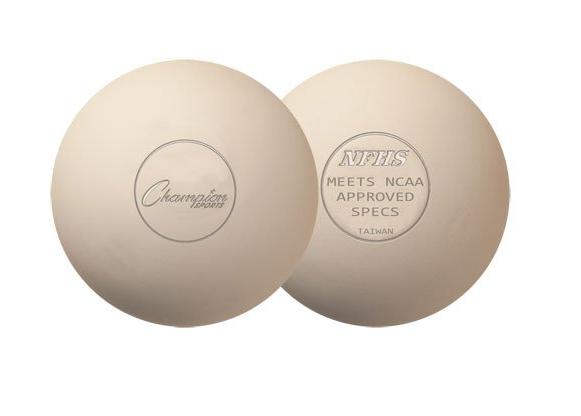 Champion sports NCAA/NFHS official size molded lacrosse balls