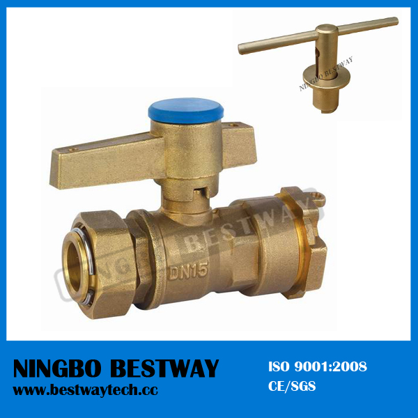 Lockable Brass Ball Valve For Water Meter Bw L01 Buy