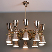 Hot Selling New design with Stainless steel+ Aluminum Luxury Chandelier Light