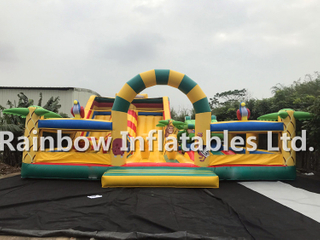 RB4054(11x10x6m) Inflatable Large jungle theme funcity for sale