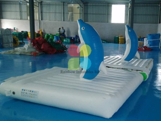 New inflatable dolphin toys water games Bouncer RB32066