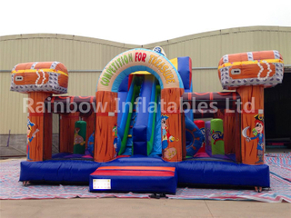RB4127( 6x6.5m ) Inflatable pirate Funcity For Selling