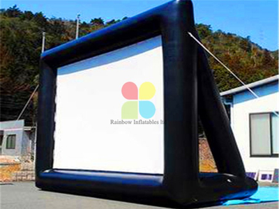 RB21034(4x6mH) Inflatable advertising movie screen hot sale for outdoor