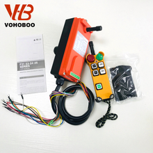 F21-4S/4D 4 functions single speed / dual speed wireless remote controller for monorail crane