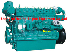 Weichai R6160ZC Medium speed marine diesel engine 223-490HP 850-1000RPM