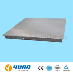 Model YDS Double-desk Stainless Steel Floor Scale