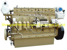 350HP 1000RPM Weichai medium speed marine diesel engine (R6160ZC350-1)