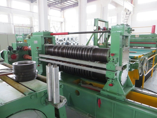 0.2-4mm High speed hot sale automatic sheet slitting unit for steel
