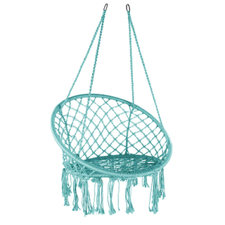 LG3007 100% Cotton Hanging Backyard Hamak Chair