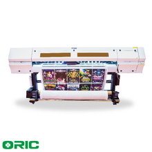 OR18L-G5 UV3 1.8m UV Roll To Roll Printer With Three Ricoh GEN5 Print Heads