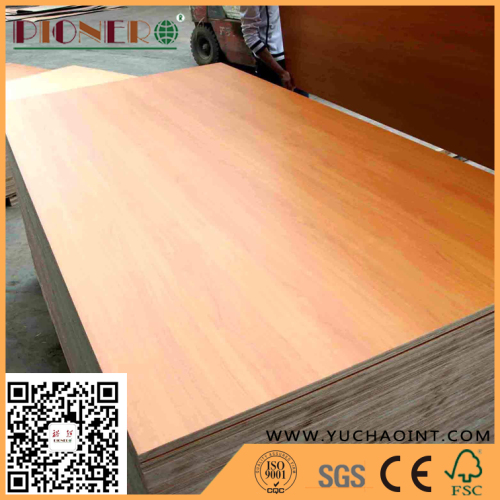 Glossy Polyester Melamine Plywood for Hotel Decoration