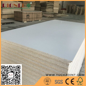 White colour melamine particle board for furniture / kitchen/ cabinet