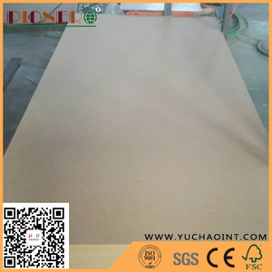 12 mm CARB P2 grade Raw MDF / plain MDF