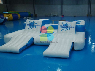 Inflatable Floating island water game for sale RB32079