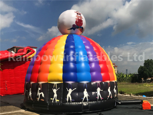 RB1140( dia 6 m ) Inflatables Dancing young colorful tents house Bouncer hotsale