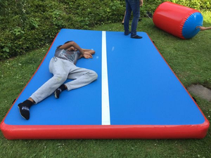 Gym Inflatable Air Track Mattress for Sale Outside