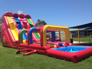 Jumbo Jumpers Inflatable Water Slide