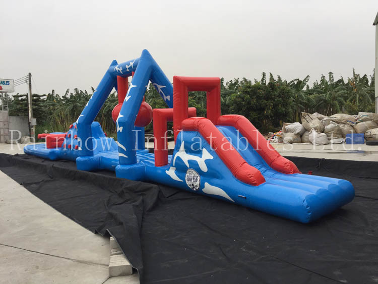 RB5056(15x2.5x2m) Inflatable New High Quality long Obstacle Course
