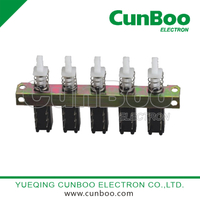 PBS-22H04-5 quintuplet key switch
